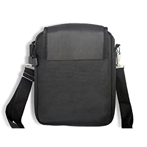 Padded Ballistic Nylon Hybrid Travel Case / Bag with Strap for iPad and iPad 2