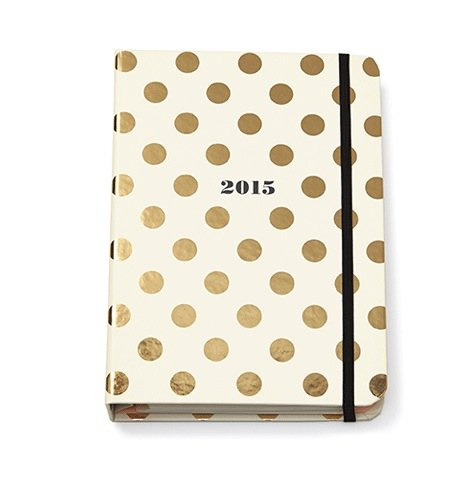 Kate Spade Medium Agenda - Gold Dots