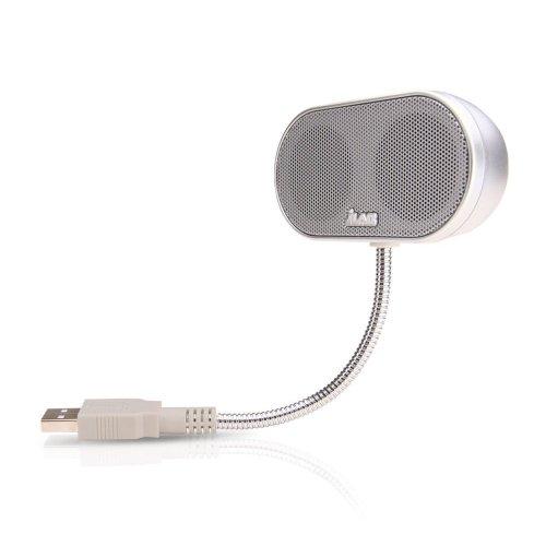 JLab Hi-Fi USBスピーカー B-Flex - Silver
