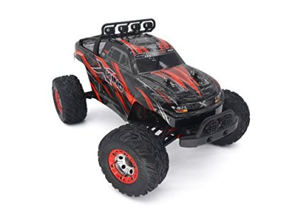 Tecesy-112-Scale-4x4-Brushless-RC-Monster-Truck-with-24GHz-Remote-Control-Red-Ready-to-Run-with-2838-4500kv-Brushless-Motor
