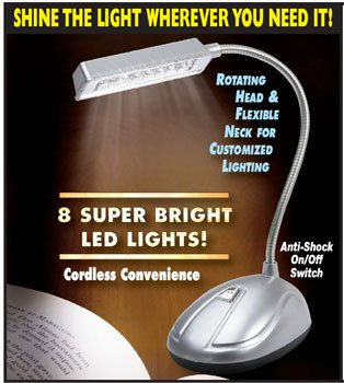 SE FL346-8 8 LED Reading Lamp