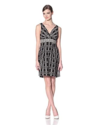 Eva Franco Women's Kora Dress Cairo (Black/White)