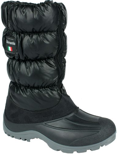 Original San Bernardo After Ski Winterstiefel Winterboot schwarz Groesse-38