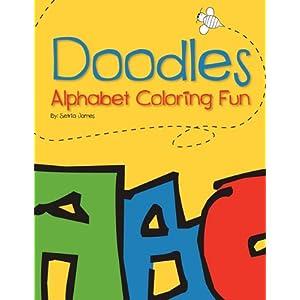 Doodles: Alphabet Coloring Fun