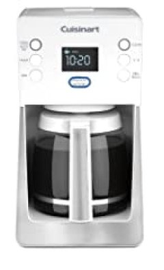 Cuisinart DCC-2800W Perfec Temp 14-Cup Programmable Coffeemaker, White