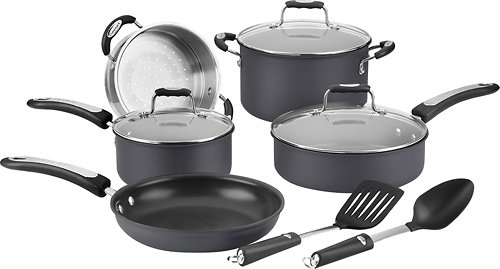 Cuisinart Pro Classic 10-piece Hard Anodized Cookware Set Hw62-10