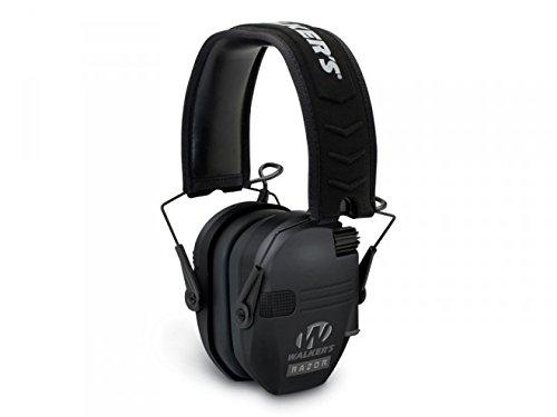 Walkers Game Ear Razor Slim Electronic Muff, Black