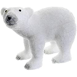 allstate snow drift white standing polar bear table top christmas figure decoration 11 amazoncom