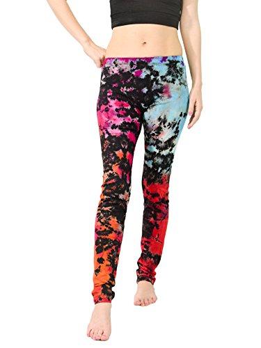 Orient-Trail-Womens-Hippie-Tie-dye-Yoga-Dance-Stretch-Pant-Leggings