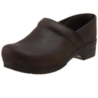 Dansko Men's Wide Professional Clog,Antique Brown,47 EU (13.5-14 Wide US)