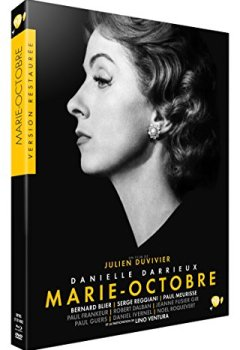 Livres Couvertures de Marie-Octobre [Combo Collector Blu-ray + DVD]
