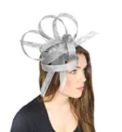 Hats By Cressida Hurricane Sinamay Ascot Fascinator Hat Women
