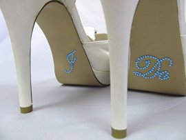 Something-Blue-I-Do-Rhinestone-Stickers-for-Bridal-Shoes-Designed-for-Wedding-Bride-Shoes