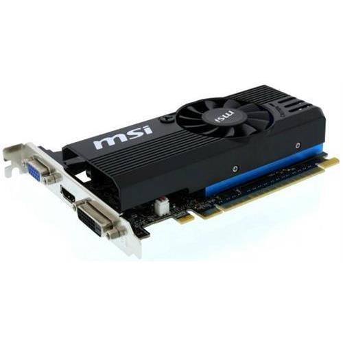 MSI N730K-1GD5LP/OC GeForce GT 730 1GB 64-Bit GDDR5 PCI Express 2.0 x16 HDCP Ready Low Profile Video Card (MSIN730K-1GD5LP/OC )