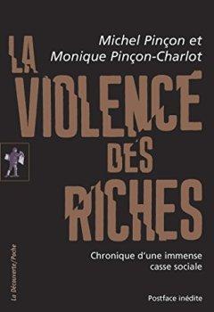 Livres Couvertures de La violence des riches