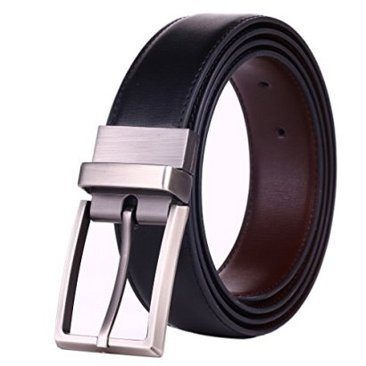 Beltox-Fine-Mens-Dress-Belt-Leather-Reversible-125-Wide-Rotated-Buckle-Gift-Box