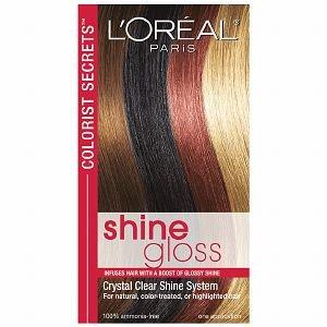 l oreal paris colorist secrets shine gloss hair treatment hair color refreshers