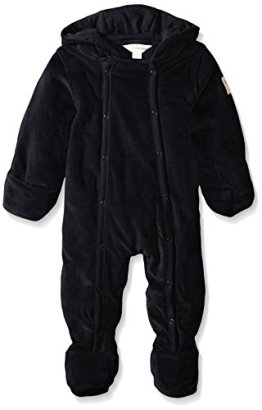 Burts-Bees-Baby-Unisex-Baby-Organic-Velour-Hooded-Bunting-Onyx-3-6-Months