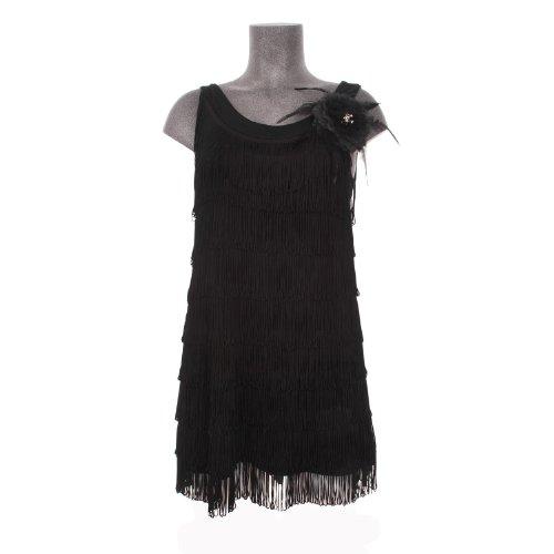 Hell Bunny Minikleid 1920'S DRESS black
