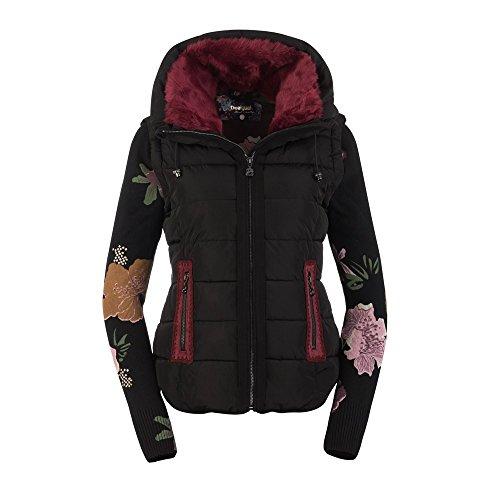 Desigual Damenjacke Jacke Modell CHAQ BLACK 2 NEGRO 67E29D6 2000