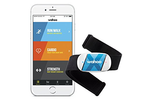 Wahoo TICKR X Workout Tracker and Heart Rate Monitor with Memory for iPhone & Android