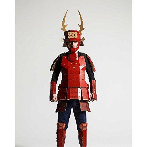 大人用 着れちゃう!ダンボール甲冑 真田幸村 コスチューム ~180cm