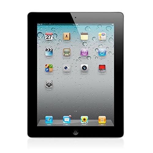 Apple iPad 2 MC769LL/A Tablet 16GB, WiFi, Black (Certified Refurbished)