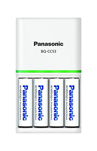 パナソニック eneloop 充電器セット 単3形充電池 4本付き スタンダードモデル K-KJ53MCC40