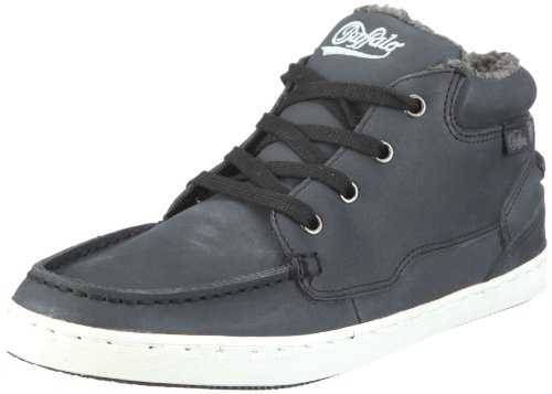 Buffalo 5150-I2833 NUBUCK LEATHER 122785, Damen, Sneaker, Schwarz (BLACK 01), EU 37