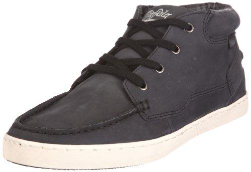 Buffalo 5050-I2833 NUBUCK LEATHER 122794, Herren Sneaker, Schwarz (BLACK 01), EU 40