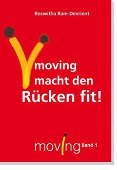 Buchdeckel von moving - macht den Rücken fit