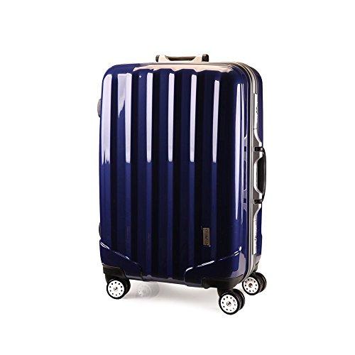 スーツケースTSAロック搭載 4輪 ダブルキャスター フレーム開閉式 KT523ACX 先上げ品   軽量  旅行カバン キャリーケース 旅行用品 国内海外 修学旅行 海外留学 ビジネスバック キャリーバック S M L 小型 中型 大型 (S 小型, ロイヤルブルー)