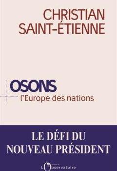 Livres Couvertures de Osons l'Europe des nations