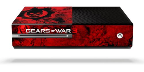 Gears of War 3 Limited Edition Console Game Skin for Xbox One Console