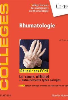 Livres Couvertures de Rhumatologie: Réussir les ECNi