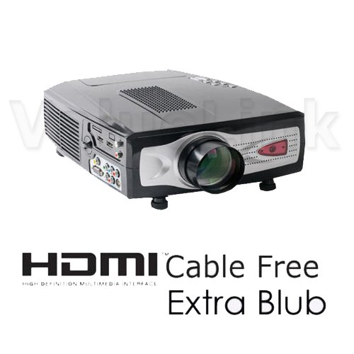 Hd66 1080i Hd Lcd Projector For Tv Wii Xbox 360 Ps3 Home Theater