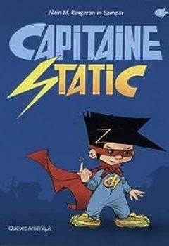 Livres Couvertures de Capitaine Static, Tome 1