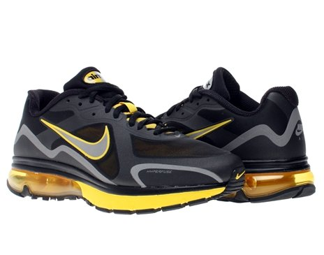 Buy Nike Air Max Alpha 2011+ Mens Running Shoes 454347-070 Black 11.5 M US