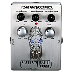 ROCKTRON Cottonmouth Fuzz ファズエフェクター