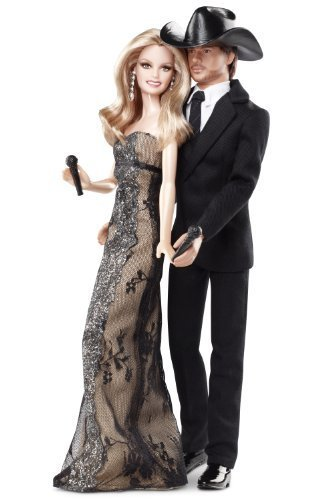 Barbie Collector Tim McGraw And Faith Hill Doll Gift Set by Barbie