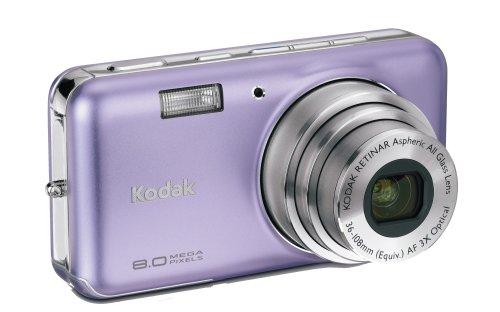 Kodak Easyshare V803 8 MP Digital Camera with 3xOptical Zoom (Mystic Purple)
