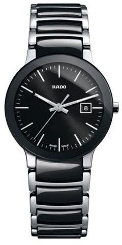 rado centrix black dial two-tone ceramic ladies watch r30935162,video review,(VIDEO Review) Rado Centrix Black Dial Two-tone Ceramic Ladies Watch R30935162,
