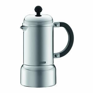 Bodum Chambord Aluminum Stovetop Espresso Maker