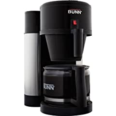 BUNN NHBX-B 10-Cup Home Brewer Coffee Maker Black Velocity Brew Machine