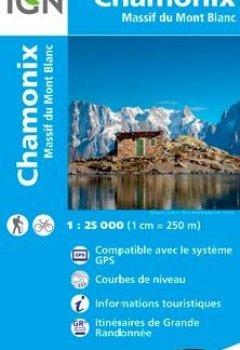 Livres Couvertures de 3630OT CHAMONIX MASSIF DU MONT BLANC