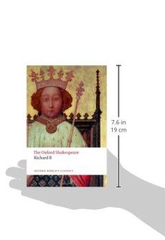 Livres Couvertures de Richard II: The Oxford Shakespeare