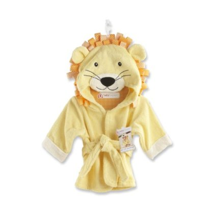 Baby-Aspen-Big-Top-Bath-Time-Lion-Hooded-Spa-Robe-Yellow-0-9-Months