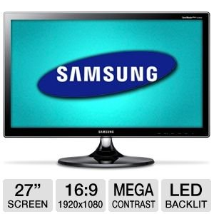 Samsung B550 S27B550V 27-Inch Screen LED-Lit Monitor
