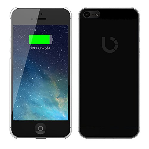 bezalel qi wireless charging receiver phone case back cover,qi wireless charger dock,flexiable lightning connector,1 amp output,iphone 5 5s,(VIDEO Review) BEZALEL Qi Wireless Charging Receiver Phone Case Back Cover for iPhone 5 5S with 1 Amp Output | Black | Flexiable Lightning Connector | Slim | Compatible with Qi Wireless Charger Dock,