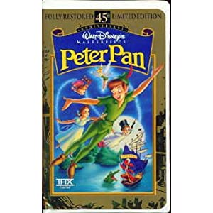 [VHS]Peter Pan(Fully Restored 45th Anniversary Limited Edition) (Walt Disney Masterpiece Collection) [VHS]